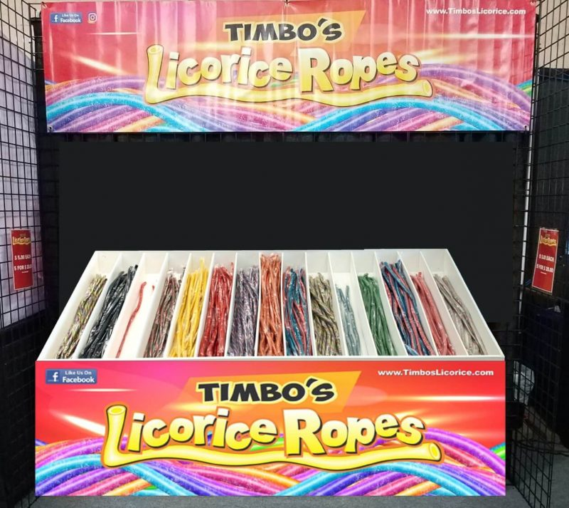 Packaged Licorice Booth